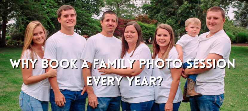 Why Book a Family Photo Session Yearly | Columbia MOPhotographer
